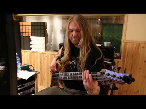 ShadowQuest 2:nd Album Bass Recording with Jari Kainulainen