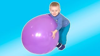 Learn Colors with Balloons | Finger Family Song by Funny Timur