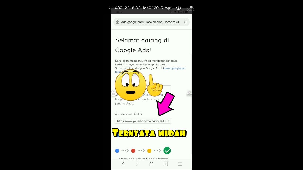 Cara Mengisi Url Ketika Daftar Google Adsense Dengan Mudah Youtube