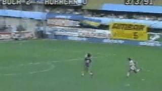 2do. Gol de Batistuta a Huracán (Boca 2-Huracán 0 03-03-91)
