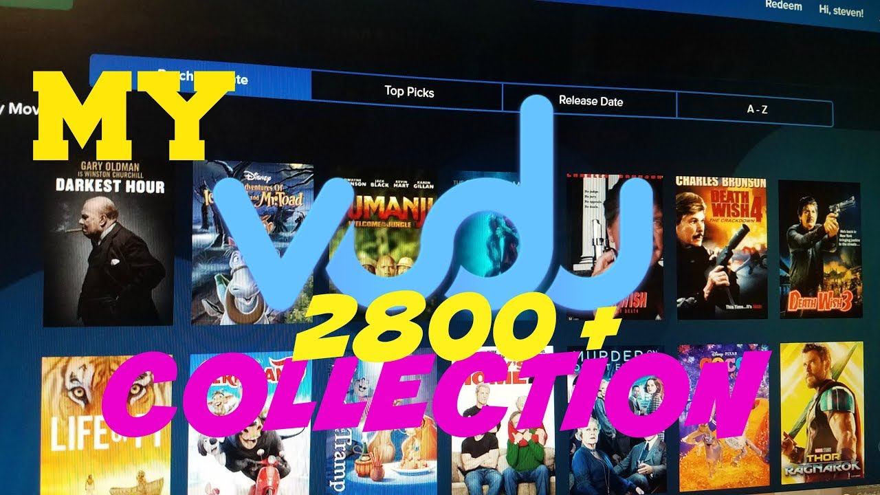 Download MY COMPLETE VUDU COLLECTION 2800+