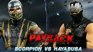 wwe 2k15 creation battle scorpion mortal kombat vs ryu hayabusa ninja gaiden