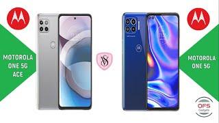 Motorola One 5G Ace vs Motorola One 5G
