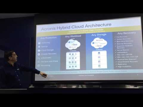John Zanni, Acronis CMO and SVP Channel and Cloud, talks block chain and backup!