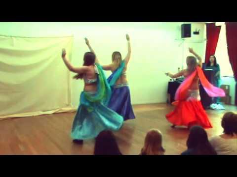 "Fireflow Spring Hafla 2016 - ""Ya Tamra Henna"" student group"