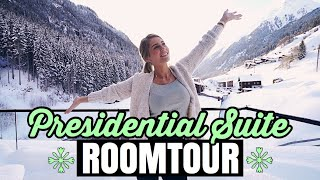Presidential LUXUS Suite in Ischgl! | Roomtour | MRS. BELLA