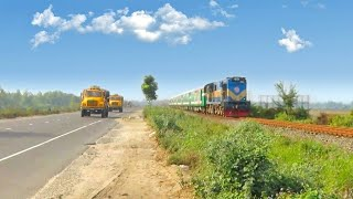 Moitree Express ||Transport between India and Bangladesh  || Bangladesh Zone Road and Railline