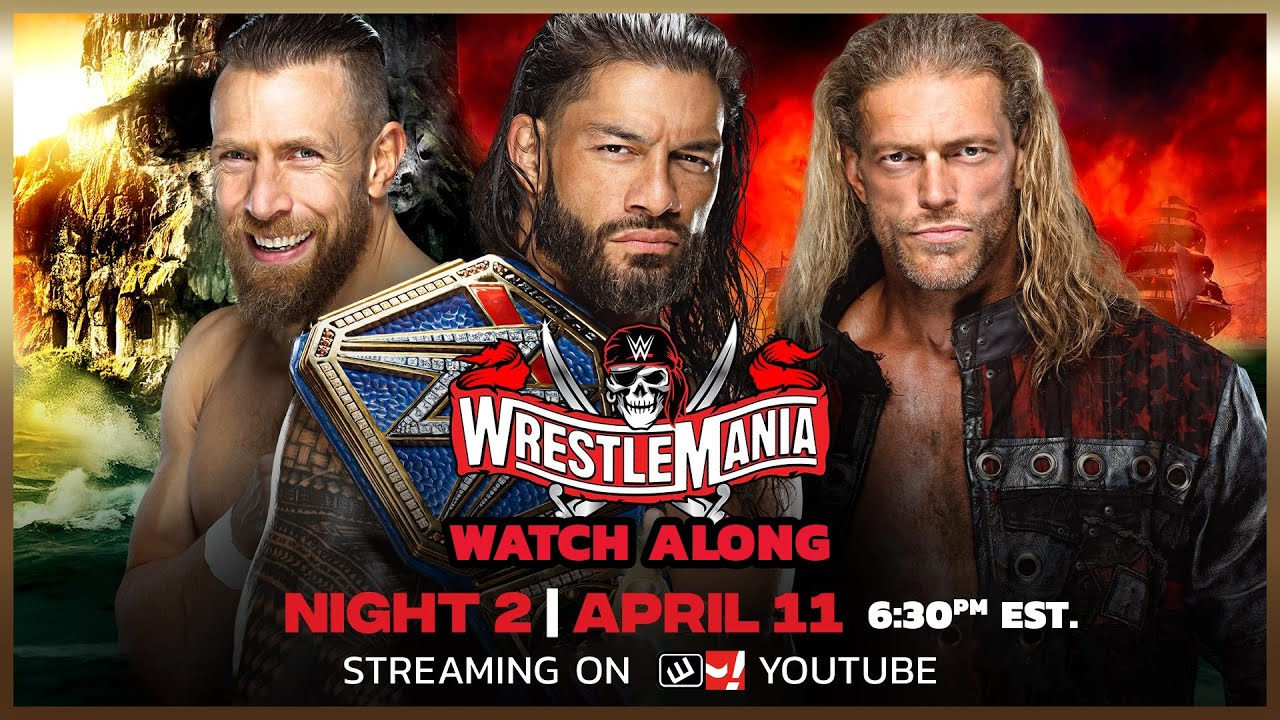 🔴 LIVE: WWE Wrestlemania 37 Night 2 Live Coverage and Reaction