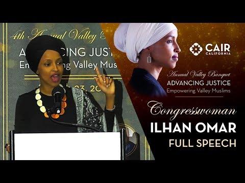 Rep. Ilhan Omar Speech - 4th Annual Valley Banquet 2019 | CAIR-LA