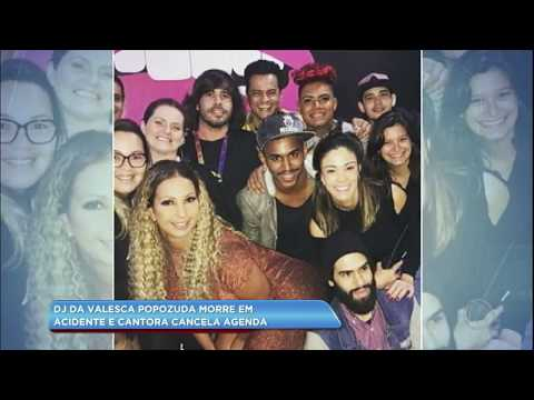 Hora da Venenosa: DJ de Valesca morre em acidente e cantora cancela compromissos