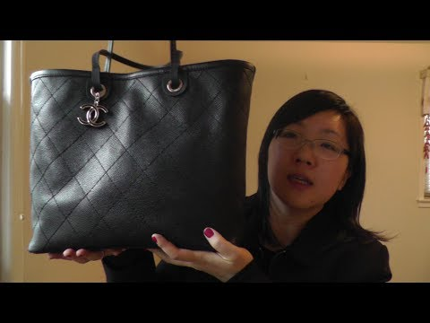 9673f2dcbabc Chanel Review - Shopping Tote from 2014 Spring/Summer Collection ...