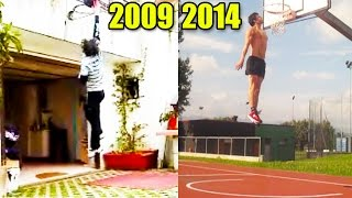 vuclip 5'7 White Kid Dunks After 5 Years Of Training - 5'7 dunker