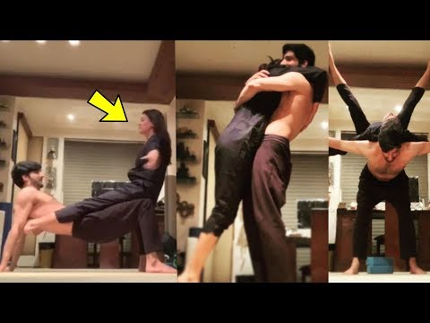 Sushmita Sen And Rohman Shawl ROMANTIC WORKOUT Video Together