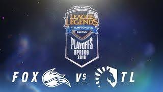 Video FOX vs. TL  | NA LCS Spring Playoffs | Semifinals Game 1 | Echo Fox vs. Team Liquid (2018) download MP3, 3GP, MP4, WEBM, AVI, FLV Agustus 2018