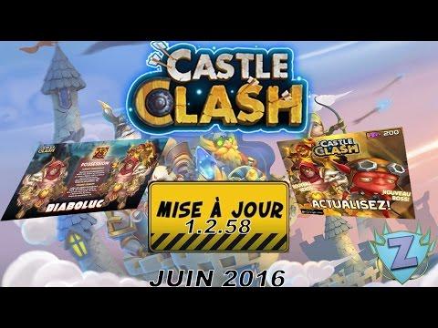 [Castle Clash FR] MAJ Juin 2016 (1.2.58)