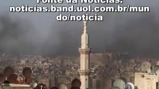 Sírios são intoxicados com gases venenosos