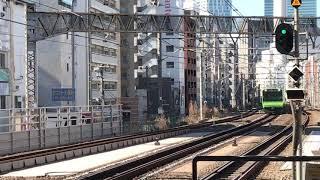 JR山手線E235系東トウ27編成恵比寿駅到着