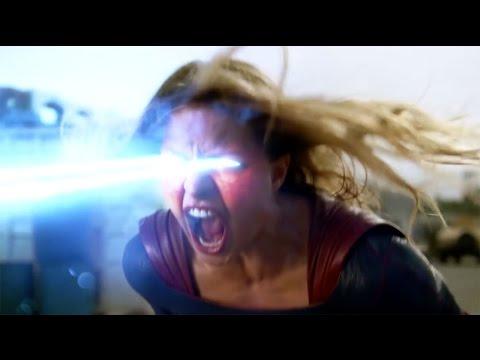 SUPERGIRL 1x06 Clip - Full Red Tornado Fight (2015) HD Melissa Benoist