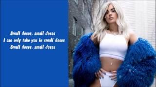 Bebe Rexha - Small Doses Karaoke / Instrumental with lyrics