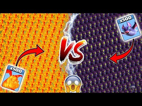 Lava Pups Vs Bats Clash Of Clans Ultimate Battle | COC Reality