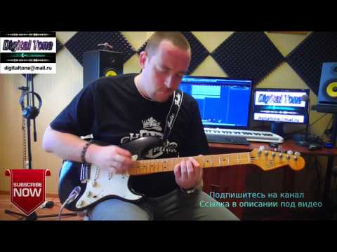 Kirill Potylitsyn - Night in Manhattan ( Great Guitar Improvisation )
