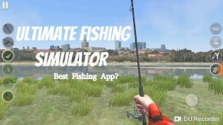 Best Android Fishing Games Part 3: Ultimate Fishing Simulator review