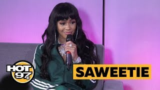 Saweetie on Icy, Rapping for J. Cole + Playing Music for Her Man