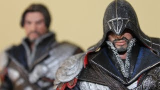 NECA Assassin Creed Brotherhood Ezio Action Figure Review & Showcase (Exclusive)