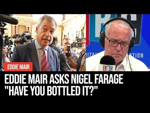 "Eddie Mair Challenges Nigel Farage In A Brutal Interview: ""Have You Bottled It?"""