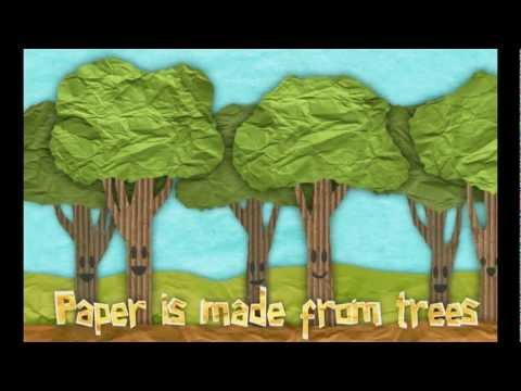 Educational video for kids: How Paper  Is Made