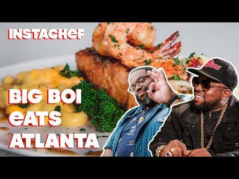 Outkast's Big Boi Introduces Cliff To Atlanta's Food Scene || InstaChef