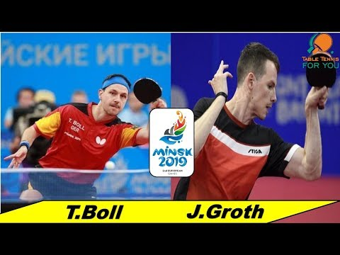 Timo Boll - Jonathan Groth II European Games ,Minsk 2019 II Final