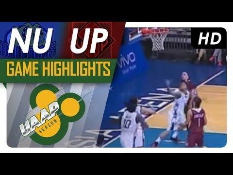 NU vs. UP | Game Highlights | UAAP 80 Men's Basketball | October 8, 2017