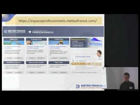 Les données publiques de Météo France - David Goutx