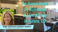 New Homes in Aurora CO - The Daniel Model by Richmond at Forest Trace
