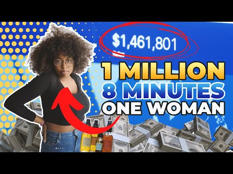 20 Year Old Makes 1 Million In 8 Minutes (shopify)