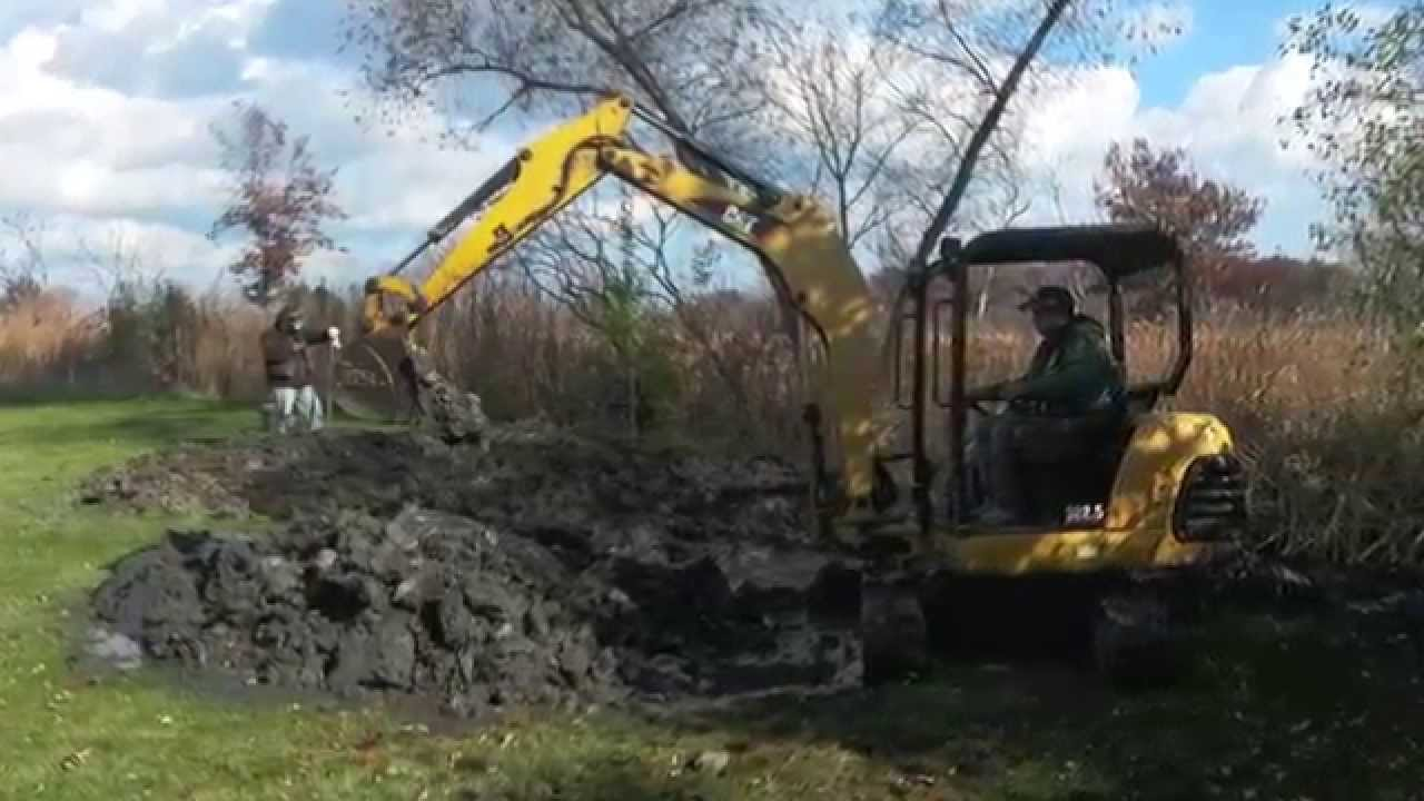 drainage ditch cleaning