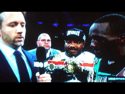 TERENCE CRAWFORD CALLS OUT KEITH THURMAN & PACQUIAO AFTER BEATING DIAZ INTERVIEW WITH MAX KELLERMAN