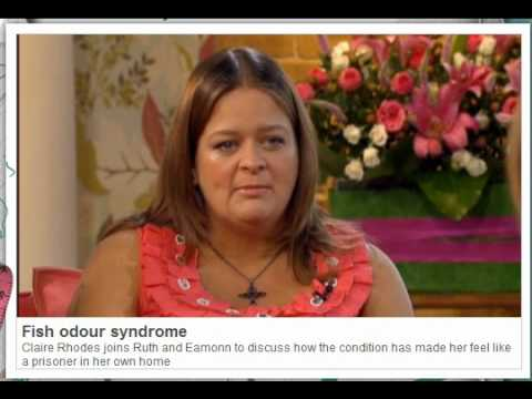 Body Odor : Claire Talks Trimethylaminuria (TMAU) Smells On UK TV Show