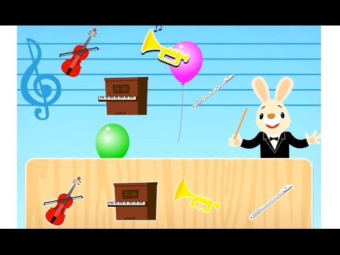 Musical instruments for kids | Video for children| Educational game