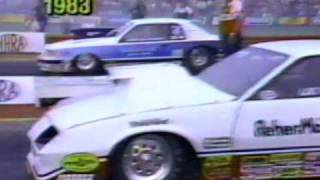Pro Stock Drag Racing in the