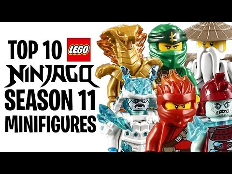 Top 10 LEGO NINJAGO Season 11 Minifigures!