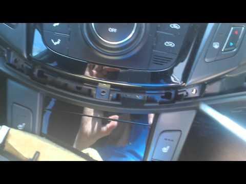 Demonta radia Hyundai i40