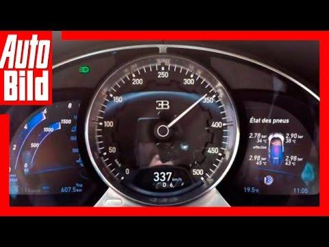Bugatti Chiron (2016) Fahrbericht/Test/Details