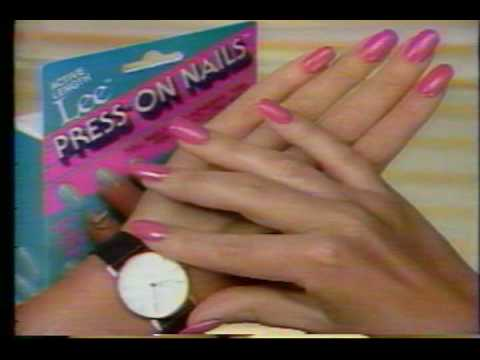 1986 Tv Commercial Lee Press On Nails