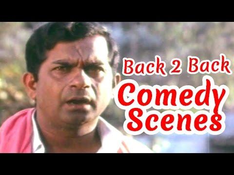 Babai Hotel Back 2 Back Comedy Scenes - Brahmanandam