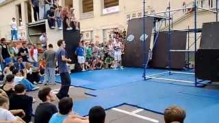 SUMMER AERO-YO FEST 2013 Москва Лужники - Паркур Контест - Финал