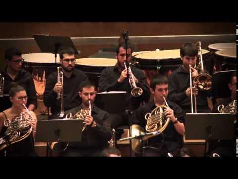 Jove Banda Simfònica de la FSMCV.  Gloses II de Amando Blanquer.