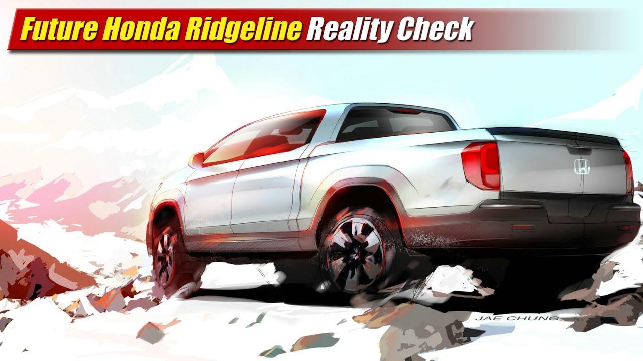 Future Honda Ridgeline Reality Check