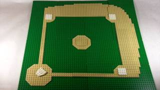 How To Build: Lego Baseball Field